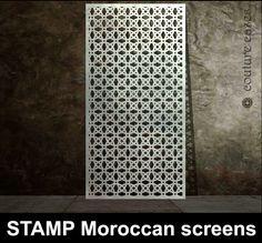 Bespoke STAMP laser cut metal panels