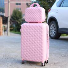 Tronco, 26 polegada, Spinner bagagem de viagem mala sem saco de estudante(China (Mainland)) Pink Luggage, Cute Luggage, Luggage Case, Best Travel Luggage, Travel Bags, Cute Suitcases, Chanel Tote, Cute Cases, Luxury Travel