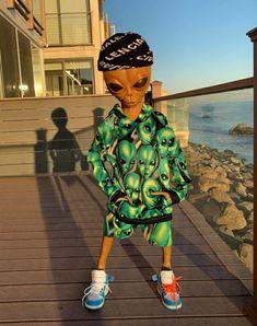 Asap Rocky Wallpaper, Hype Wallpaper, Aliens Meme, Alien Aesthetic, Funny Text Conversations, Cute Alien, Trinidad James, Ace Hood, Whatsapp Wallpaper