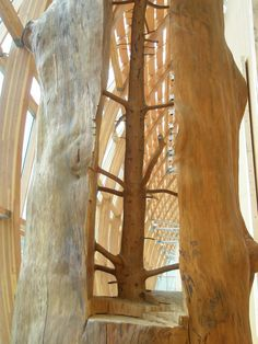 Giuseppe Penone 'The Hidden Life Within', Art Gallery of Ontario (AGO), Toronto, Canada. Tachisme, Giuseppe Penone, Pop Art, Art Gallery Of Ontario, Tree Carving, Italian Artist, Land Art, Beautiful Artwork, Beautiful Things