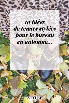 10 idées de tenues d automne pour le bureau, avec les basiques et les 00295a180d6