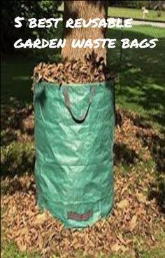 50KG Heavy Duty Garden Waste Bag with 270L Capacity