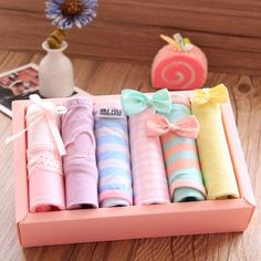 """Lovely lace briefs gift box SE9324   Coupon code """"cutekawaii"""" for10% off"""