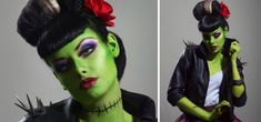 Bride Of Frankenstein Makeup Ideas | Halloween / frankensteins monster bride makeup idea