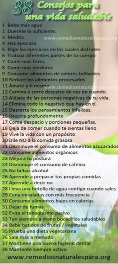 Consejos Saludables!  #consejosvidasaludable #tipsvidasaludable #consejossaludables