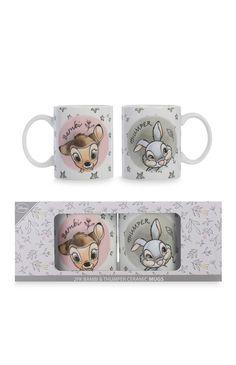 Primark - Disney Bambi Mugs Disney Cups, Baby Disney, Bambi And Thumper, Disney World Christmas, Mermaid Mugs, Disney Bedrooms, Cool Mugs, Fun Cup, Disney Outfits