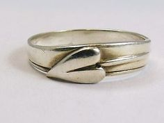 STERLING SILVER RING BY OLA GORIE    'ELEGANT' DESIGN   Scottish 925  Size Q - http://elegant.designerjewelrygalleria.com/ola-gorie/sterling-silver-ring-by-ola-gorie-elegant-design-scottish-925-size-q/