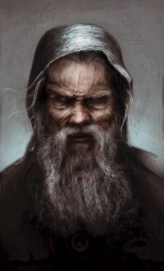 ArtStation - Saruman as 'Sharkey', Fabio Leone
