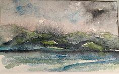 New small watercolor... fun to paint. By Tara Ashcroft Hoffmann At Taramberic Arts.