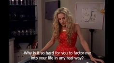 Mr Big has just said the worst thing about Carrie Bradshaw Carrie And Mr Big, City Quotes, Movie Quotes, Mr Big Quotes, Real Quotes, Carrie Bradshaw Quotes, Sex And Love, Christian Grey, Me Time