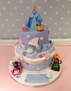 Cinderella cake My Cakes Pinterest Cake Birthdays and