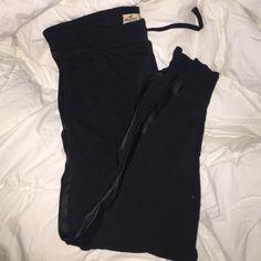 Selling this Black Hollister joggers in my Poshmark closet! My username is: kayliegariepy. #shopmycloset #poshmark #fashion #shopping #style #forsale #Hollister #Pants