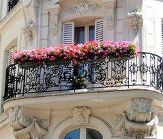 Paris Balcony,   Scrapbook: Travel