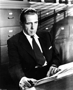 Humphrey Bogart in Dead Reckoning (John Cromwell, 1947)