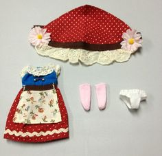 """Takara 12""""Blythe Doll Original For Middie Blythe's Outfit - 4 piece in Dolls & Bears, Dolls, By Brand, Company, Character 