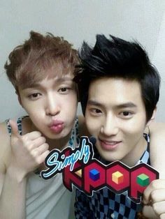 Suho & Lay  ♡ #EXO #SuLay