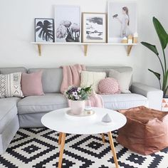 595 vind-ik-leuks, 20 reacties - Immy + Indi (@immyandindi) op Instagram: 'The gorgeous living room of @ensuus  - I've posted this photo previously but since it was…'