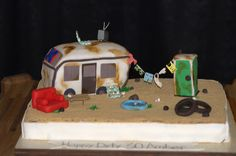 White Trash Trailer Park Cake: LOL THIS one's a WINNER! Sorry, LOVE it!