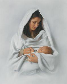 Pictures of Jesus   Sleep in Heavenly Peace by Simon Dewey giclee canvas   Cornerstone Art