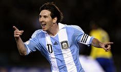 Lionel Messi and Argentina ready to Rock at Football World Cup