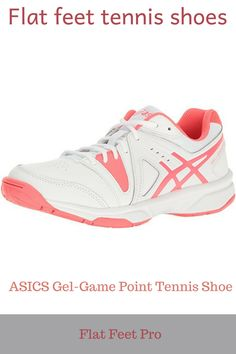 7715279296 Flat feet tennis shoes - The usual ASICS gel system is present, meaning  that there
