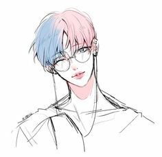 Find images and videos about pink, kpop and art on We Heart It - the app to get lost in what you love. Manga Boy, Manga Anime, Anime Art, Anime Boys, Character Inspiration, Character Art, Character Design, Character Concept, Fanarts Anime