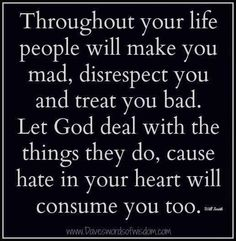 It's okay to cut some people out of your life especially those hypocrite who can't respect your family and keep meddling in your life or even your family's life in a negative way. Let it go, forgive and believe in God.