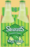 Stewart's Key Lime Soda used in sherbert ice cream floats.