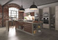 Copper is the key trend... I love the gorgeous new Gloss Copper finish from Mereway Kitchens' Cucina Colore collection