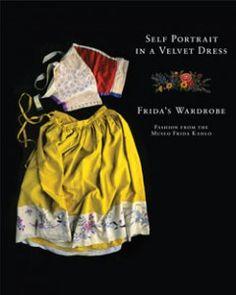 Portrait in a velvet dress: Frida Kahlo