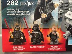 New York Toy Fair 2017 LEGO Star Wars Minifigures Palpatine Vader Anakin Skywalker