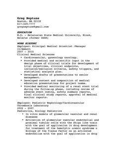 simple cover letter examples for resume