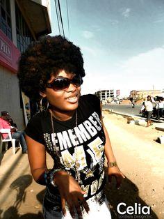 Celia Geraldo. Beauté Africaine #togo #togogirls