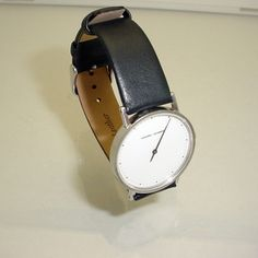 Comes Brand New Leather Band And Stainless Steel Buckle The Is Not Marked Georg Jensen Condition Fine Vintage