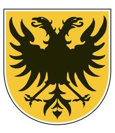 Dit is het officiële logo/schild van de Gemeente Naarden