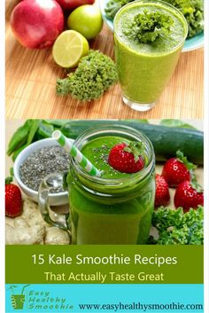 You probably think kale is bitter... However, when you include it in a smoothie, it's a whole different game.