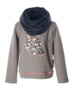 Flo sweater with separate col#koopmanmode#kidsfashion