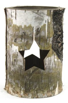 Star Bark Candle Holder Christmas Time, This Is Us, Candle Holders, Shabby Chic, Christmas Decorations, Tapestry, Candles, Star, Vintage