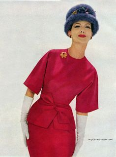 Suit by Pat Sandler for Highlight 1960