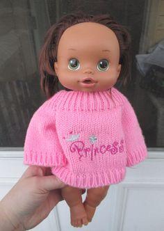 Baby Alive Sip And Slurp Hispanic Girl Doll Brown Hair