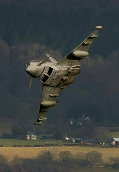 """planesawesome: """" Euro fighter typhoon """""""