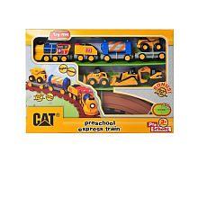 CAT Preschool Express Train LS with 3 Mini Workers