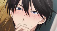 Blue Hair Anime Boy, Dark Anime Guys, Hot Anime Boy, Manhwa, Noragami, Haru And Makoto, Love Stage, Shounen Ai, Ship Art