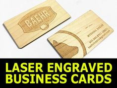 Wood business cards laser engraved on alder maple or mahagoany for wood business cards laser engraved on alder maple or mahagoany for a classic look stand out from the competiti business blogging site builders colourmoves