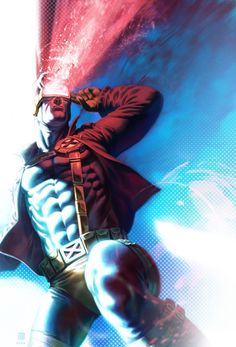 Sideshow: Cyclops by ~monk-art on deviantART