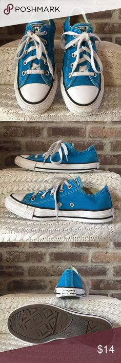 Converse All-Stars Men's size 4 women's size 6 Converse All-Stars. Notice and pictures they do have quite a bit of wear but still have a lot of life left. Converse Shoes Sneakers