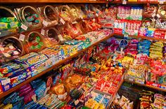 懐かしい Nostalgic candy store from the archives of living in '70s Japan =)