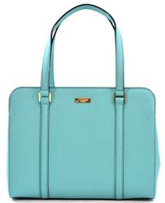 7090274a91 Purchase on Poshmark- Kate Spade Saffiano Leather Miles Newbury Lane Handbag  Shoulder Bag Purse (Robinsegg Light Blue)