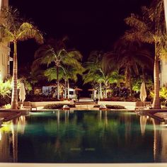 Even at night #TurksandCaicos glows. #GetWet