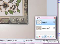 Tutorial on making a watermark for Copic photos for blog